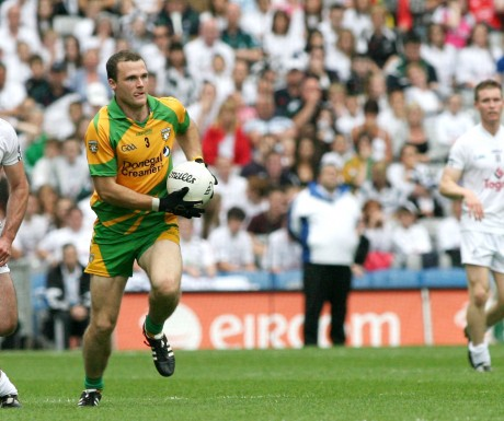 Neil McGee returns to the Donegal team to face Queen's.