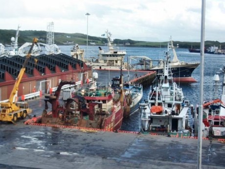 Killybegs Harbour.