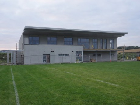 Letterkenny Gaels' new clubhouse - the club has not ruled out the possibility of revisiting the boundaries debate at county committee level.