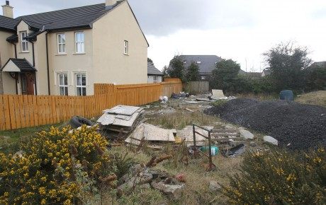 Cruach na Cille, Ballyraine which has been deemed 'finished' in reference to the Property Tax.