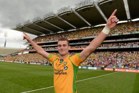 Donegal defender, Eamon McGee.