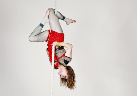The Irish Aerial Dance Festival.