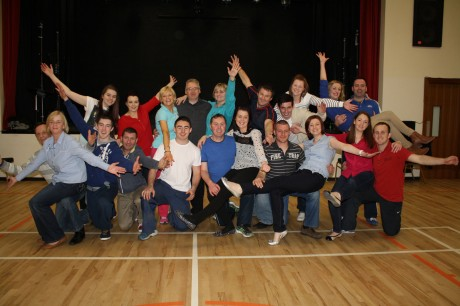 The dancers who are participating in this weekend's Jive Alive at Aislann Rann na Feirste.
