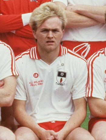 John 'Tar' Lynch during his playing days with Tyrone.