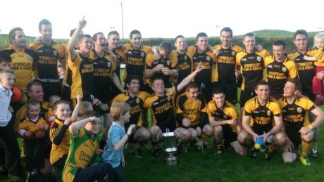 Malin celebrate winning Division 2 last season.