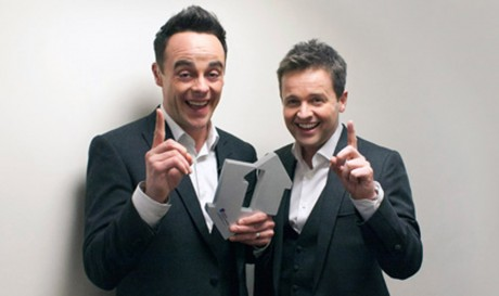Mary Ruddy's photograph of UK chart toppers Ant & Dec.