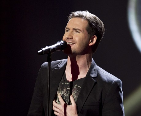 Shane McLaughlin   from Team Kian during the Fourth Live Show of The Voice of Ireland in The Helix.