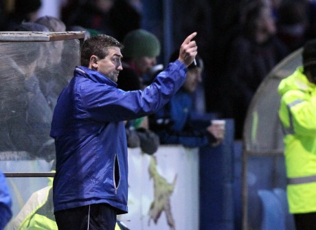 Finn Harps manager Peter Hutton. Photo: Donna McBride.