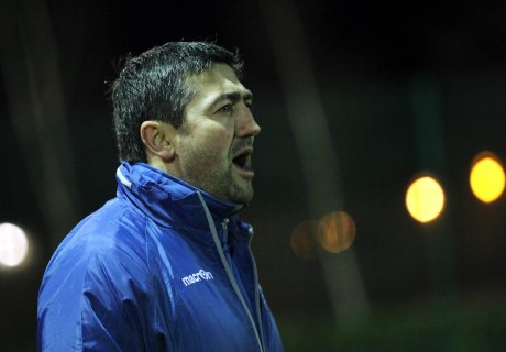 Finn Harps manager Peter Hutton.