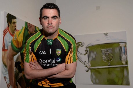 Paul Durcan at the launch of the 2013 Ulster Senior Football Championship.