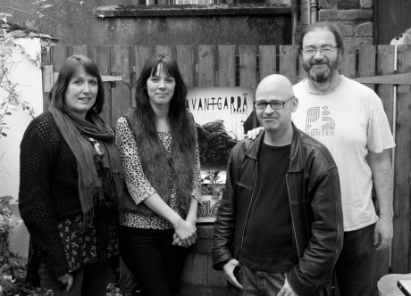 Members of the Avant-Garda artist group who are travelling to France next week.