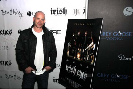 Director Chris Wax at the premiere of his acclaimed short film Irish Eyes.