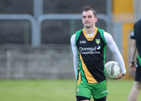 Karl Lacey has been named in the Donegal team to face Tyrone on Sunday.