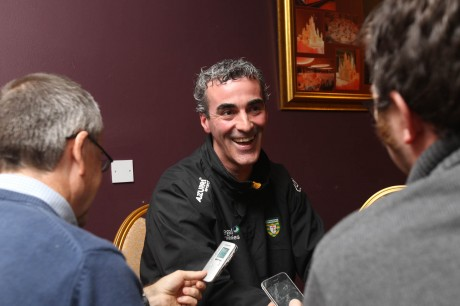 Donegal manager Jim McGuinness. Photo: Donna McBride