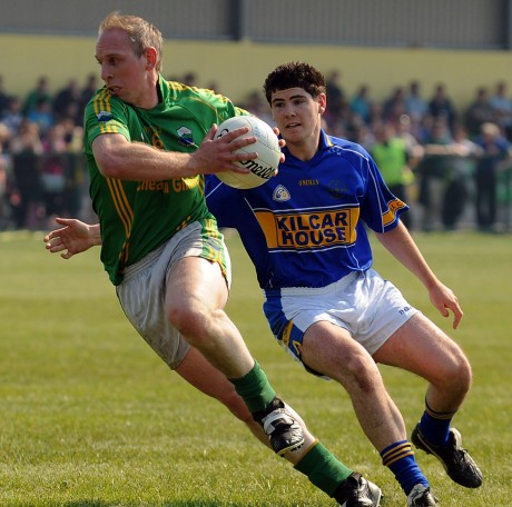 Veteran Glen player Noel McGinley is chasing a place in a Comortas Peile na Gaeltachta final this weekend.