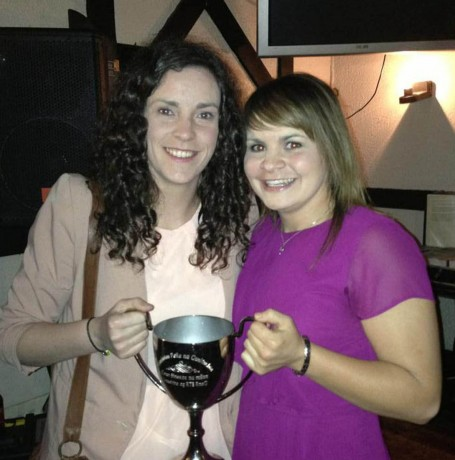 Roisin McCafferty and Geraldine McLaughlin.