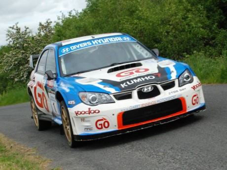Garry Jennings and Neil Doherty are in control.