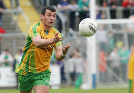 100: Frank McGlynn made his 100th Donegal appearance during the McKenna Cup.
