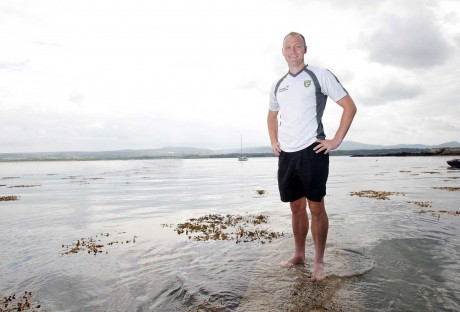 Donegal forward Colm McFadden relaxes at Ards near his home village of Cresslough. Photo: Donna McBride