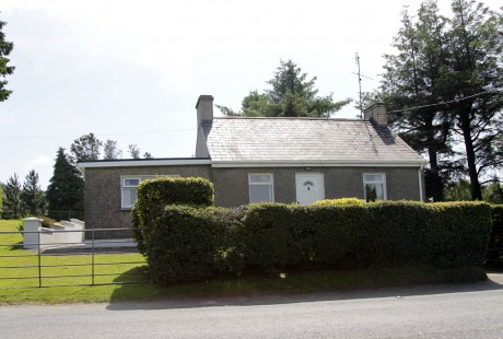 The Wilkie home at Kilross which was robbed in the early hours of Thursday morning.