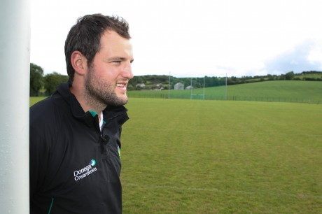 Michael Murphy pictured at the Centre of Excellence site in Convoy.