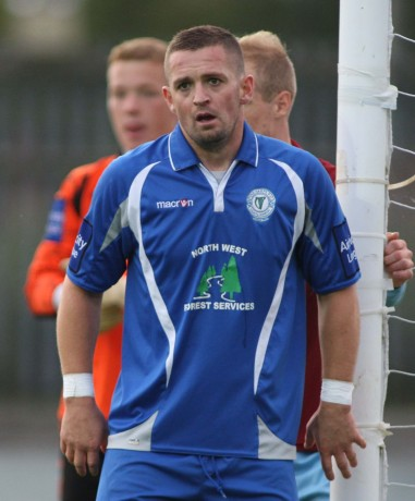 Finn Harps captain Kevin McHugh. Photo: Gary Foy