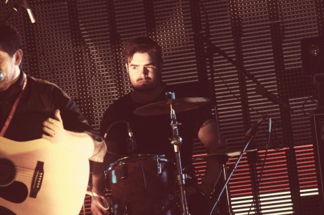 Colin Montgomery on drums.