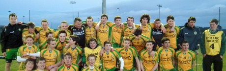 Donegal Minor Hurling squad.