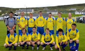 Strand Rovers play their first game in the Donegal League this Sunday.