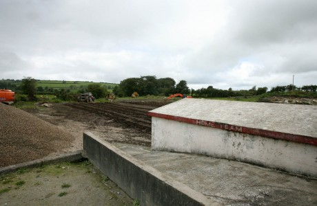 Work is ongoing at the Moss. PHOTOS: DECLAN DOHERTY