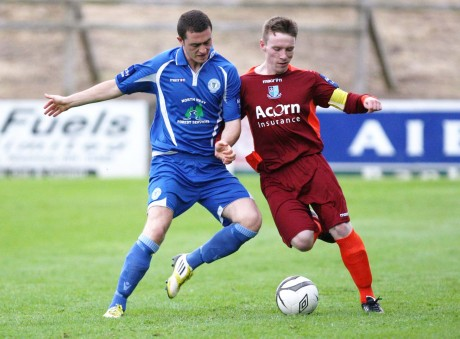 Thomas McMonagle is a doubt for Finn Harps for this evening's game against Waterford United.