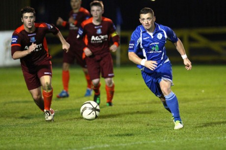 Kevin McHugh recently made his 350th appearance for Harps.