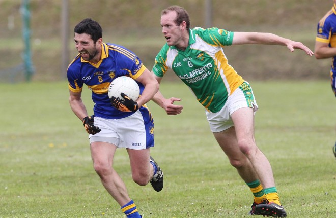 Michael Hegarty is expected to line out for kilcar on Saturday.