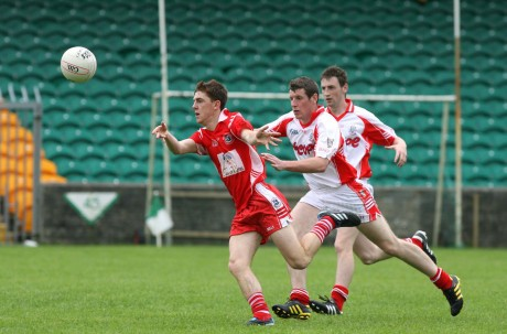 Jason Noctor in action for Killybegs.