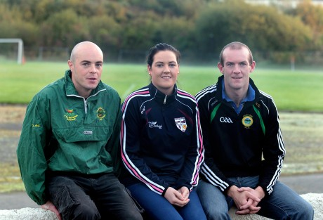 Cathal, Laura and Neil Gallagher.