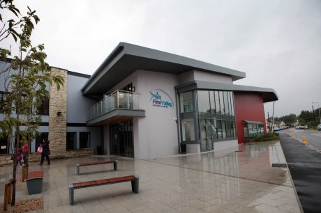 The Finn Valley Leisure Centre which was officially opened on Monday.