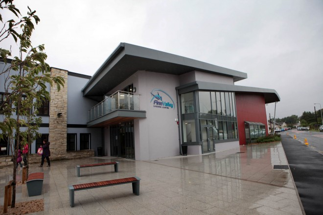 The Finn Valley Leisure Centre.