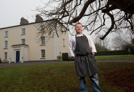 Ramelton's Gary O'Hanlon, head chef, VM @ Viewmount Country House, Longford town.