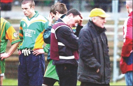 Francie Martin and Glenswilly are left devastated after their Ulster Intermediate final defeat in 2005.