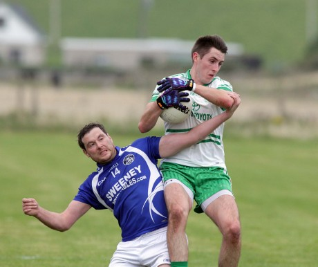 Stephen Griffin of St Naul's.