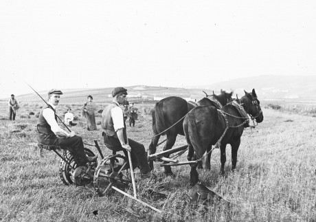 Farming at Malin Head, c. early 1900s.