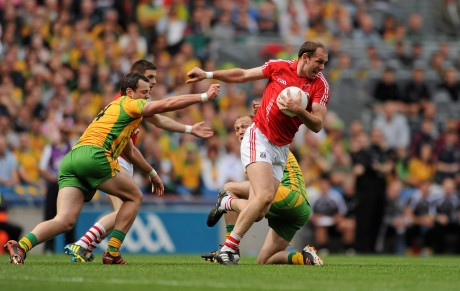 Alan O'Connor in action against Donegal in the 2012 All-Ireland semi-final. O'Connor, aged 28, quit inter-county football this week.