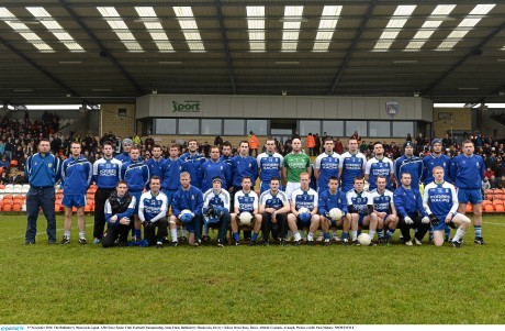 The Ballinderry Shamrocks squad