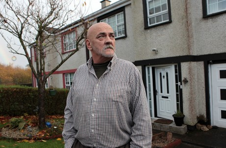 Alan Coyle at his house in Manor View, Letterkenny at the weekend.