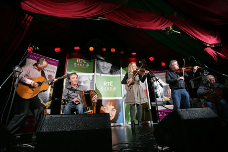 Altan playing at the launch of Scoil Gheimhridh Frankie Kennedy 2011.