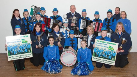 Donegal Town Community Band CD Launch. Photo: Barbara McGroary