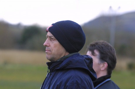 Derry City's USL manager Eddie Seydak.