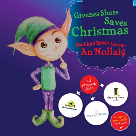 'Greene's Saves Christmas' on sale for just €5 in aid of Donegal Hospice