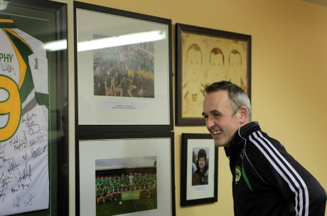 John McFadden is aiming to continue making history with Glenswilly. Photo: Declan Doherty