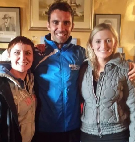 Moira Ní Ghallachóir(mng.ie), Michael Black (Optimal Fitness) and Nikki Bradley.